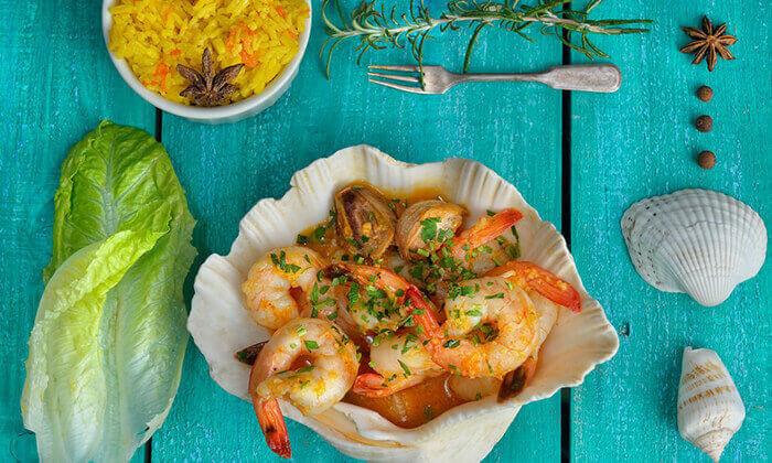 6 ארוחת דגים במסעדת פלמידה, רמת גן