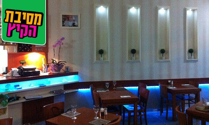 8 ארוחת דגים במסעדת פלמידה, רמת גן