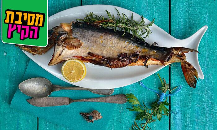 7 ארוחת דגים במסעדת פלמידה, רמת גן