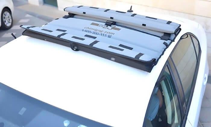 2 גגון מתקפל לגג הרכב TOP-X - משלוח חינם!