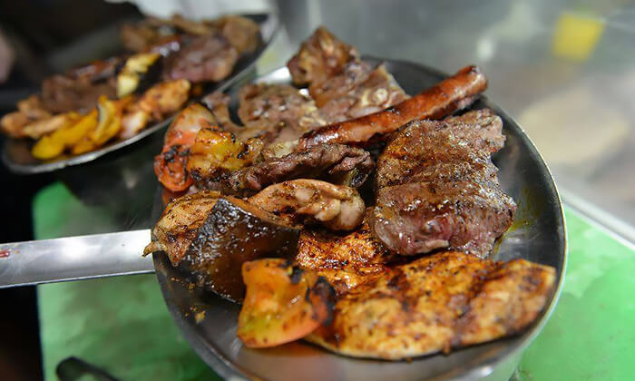 2 ארוחת בשרים זוגית במסעדת אל ראנצ'ו, טבריה