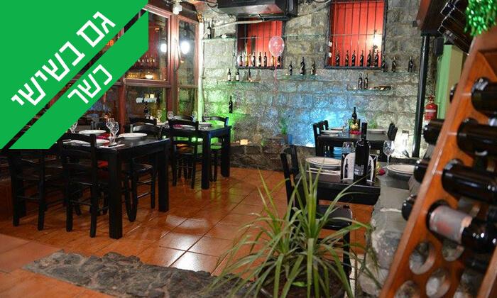 7 ארוחת בשרים זוגית במסעדת אל ראנצ'ו, טבריה