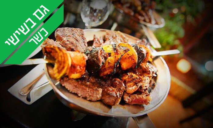 5 ארוחת בשרים זוגית במסעדת אל ראנצ'ו, טבריה