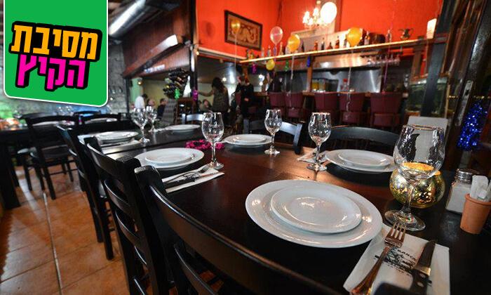 8 ארוחת בשרים זוגית במסעדת אל ראנצ'ו, טבריה
