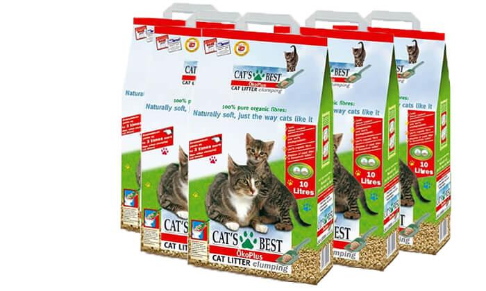 3 חול חתולים Cat's Best
