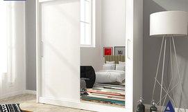 ארון הזזה 2 דלתות HOME DECOR