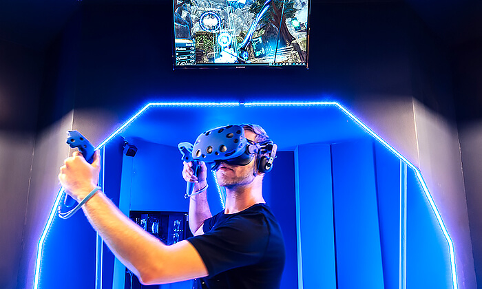 3 משחק מציאות מדומה בויראליטי, קרית מוצקין