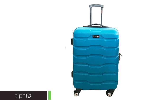 3 זוג מזוודות טרוליswiss club