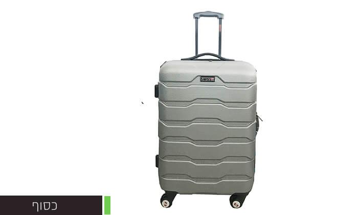 5 זוג מזוודות טרוליswiss club