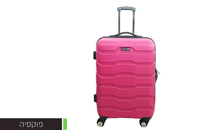 6 זוג מזוודות טרוליswiss club