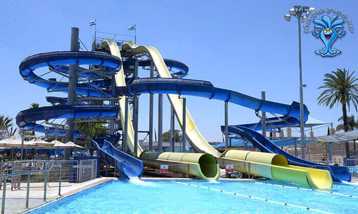 2 כרטיס כניסה לימית ספארק המים של ישראל בחולון
