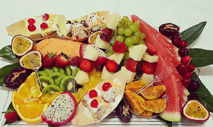 3 מגש פירות אקזוטיים של פריסושי, באר שבע