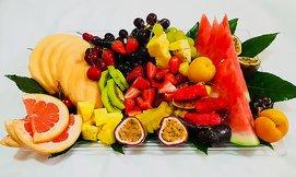 מגש פירות אקזוטיים