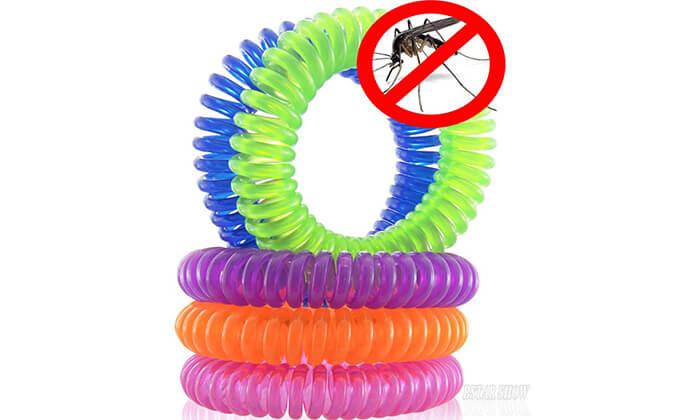 האופנה האופנתית צמיד ומדבקה דוחי יתושים | גרו (גרופון) QQ-52