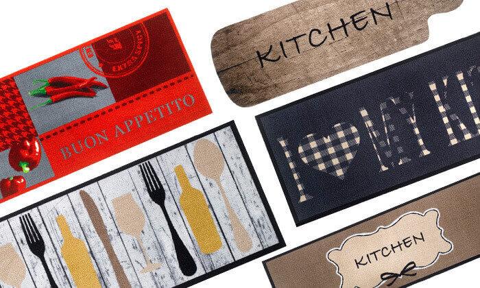 2 שטיח מטבח מעוצב