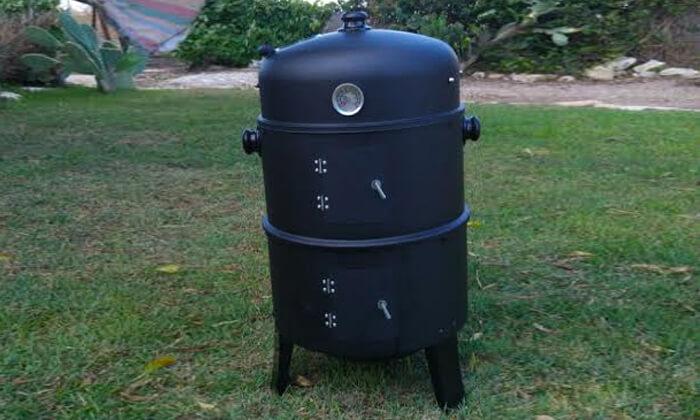 3 מעשנת בשר ביתית SMOKER