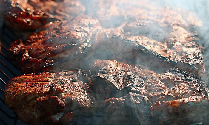 5 מעשנת בשר ביתית SMOKER