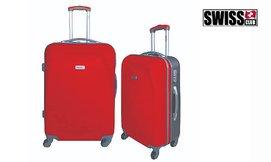זוג מזוודות SWISS CLUB