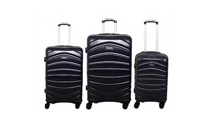2 סט מזוודות דיסקברי