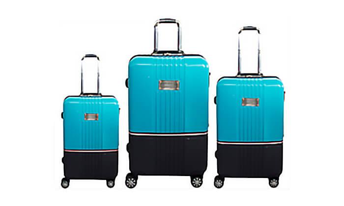 2 סט מזוודות TOMMY HILFIGER