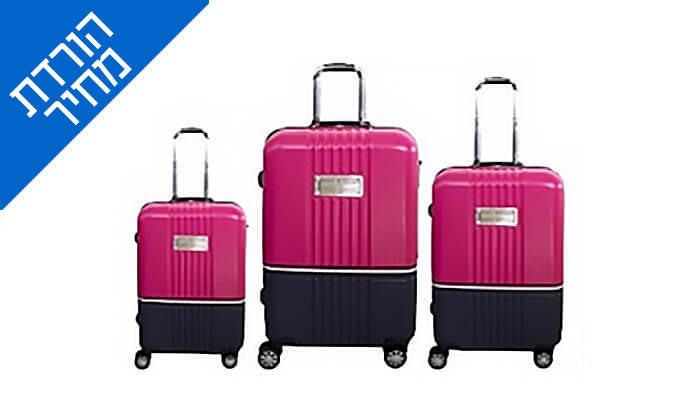 3 סט מזוודות TOMMY HILFIGER