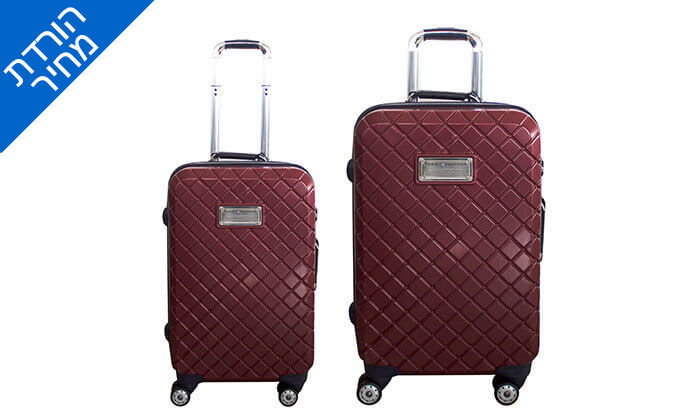 3 זוג מזוודות TOMMY HILFIGER