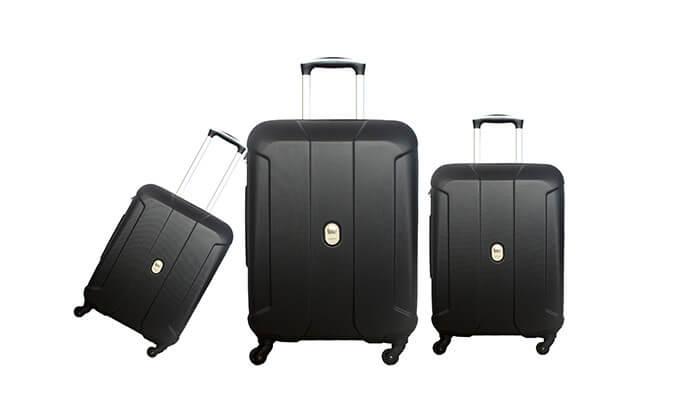 2  סט שלוש מזוודות קלות