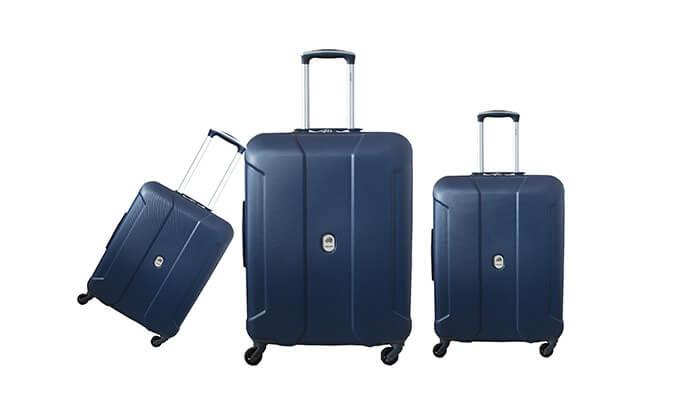 4  סט שלוש מזוודות קלות