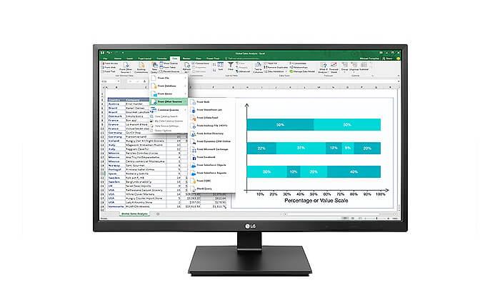 2 מסך מחשב LG, גודל 23.8 אינץ' - משלוח חינם!