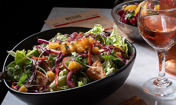 3 ארוחת שף זוגית במסעדת RESTO הכשרה בתל אביב