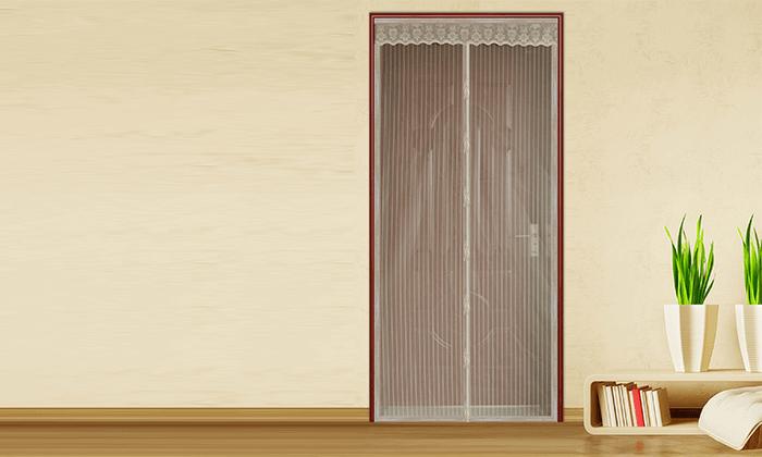 ניס רשת נגד יתושים וזבובים לדלת או לחלון | גרו (גרופון) GN-07