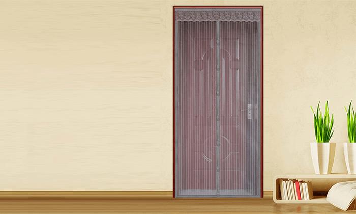 3 רשת נגד יתושים וזבובים לדלת או לחלון
