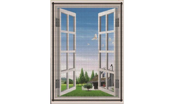 3 רשת נגד יתושים וזבובים לחלון
