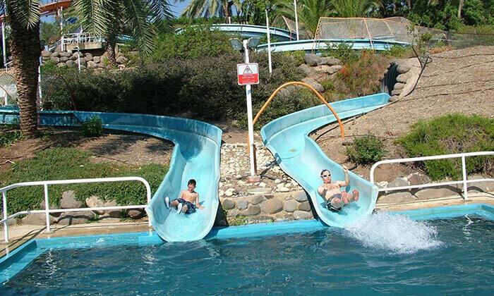 3 דיל חגיגת קיץ: כרטיס כניסה לפארק המים לונה גל, חוף גולן