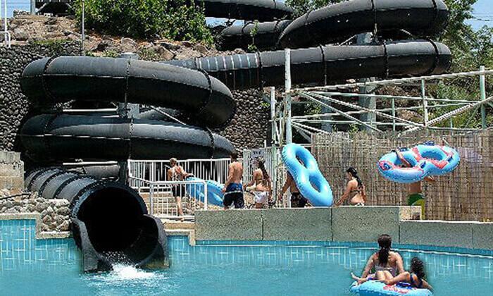 4 לונה גל חוף גולן - כרטיס כניסה בהנחה לפארק המים המוביל בצפון