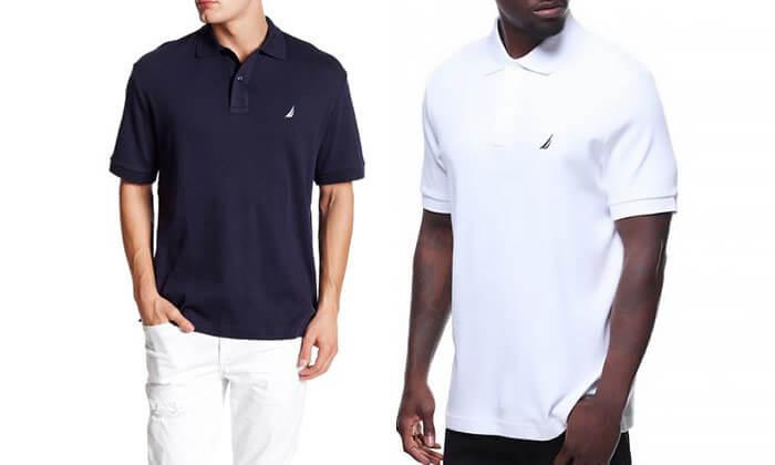 2 חולצת פולו לגבר NAUTICA