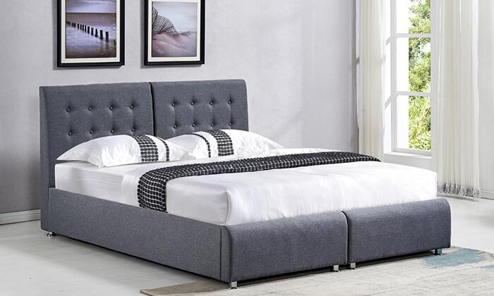 4 מיטה יהודית מרופדת HOME DECOR