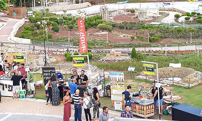 3 כרטיס כניסה לפסטיבל הבירה בפארק מיני ישראל