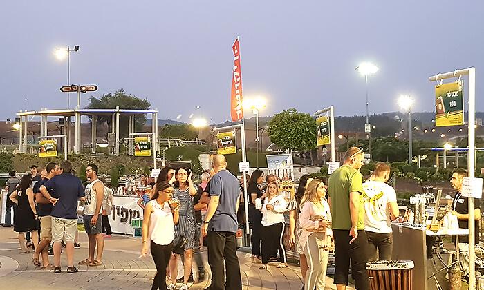 5 כרטיס כניסה לפסטיבל הבירה בפארק מיני ישראל