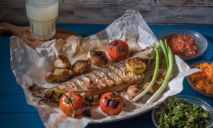 4 דיל ל-24 שעות: ארוחה זוגית במסעדת ג'קו מאכלי ים, רמת השרון