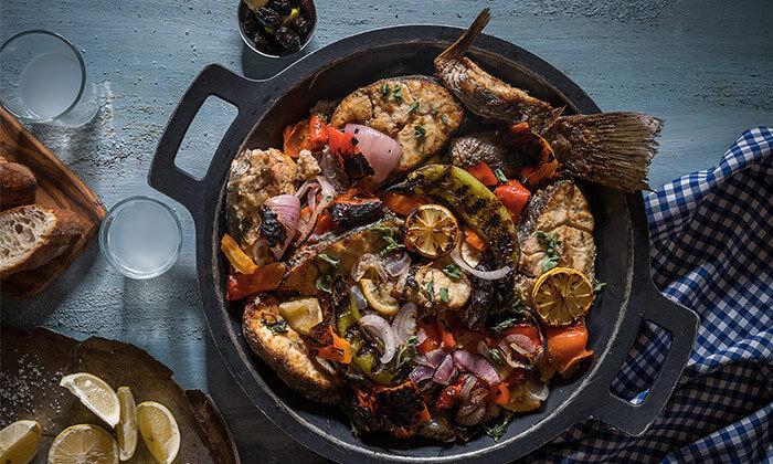5 דיל ל-24 שעות: ארוחה זוגית במסעדת ג'קו מאכלי ים, רמת השרון