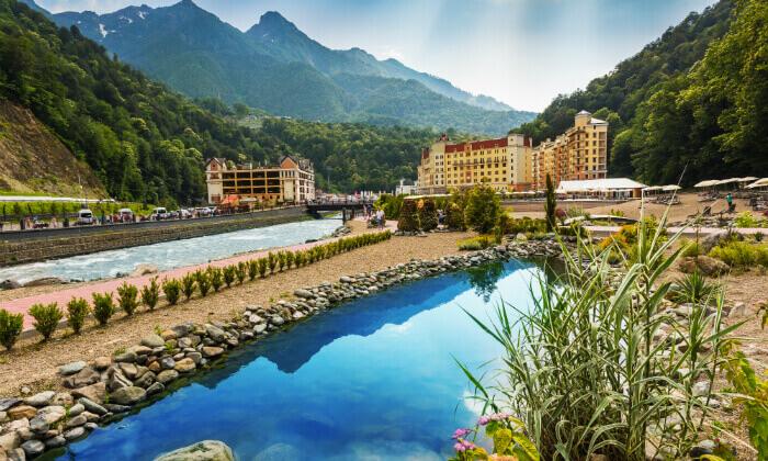 3 קיץ של קזינו, שופינג, בילויים ומלון 5 כוכבים בסוצ'י, הריביירה הרוסית