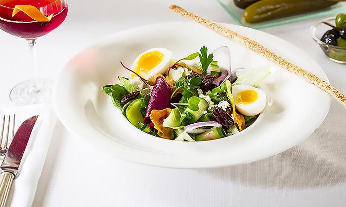 5 GROO PREMIUM | ארוחת שף במסעדת קלואליס הכשרה במלון הילטון, תל אביב