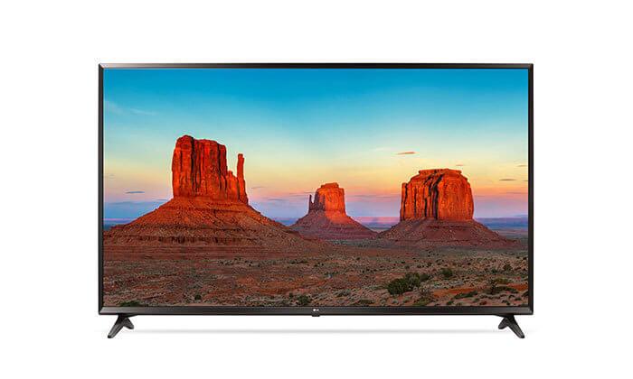 2 טלוויזיה SMART 4K LG, מסך 50 אינץ' - משלוח חינם