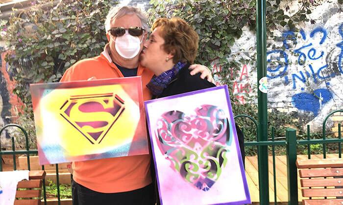 10 סדנת גרפיטי לכל המשפחה, שכונת פלורנטין תל אביב