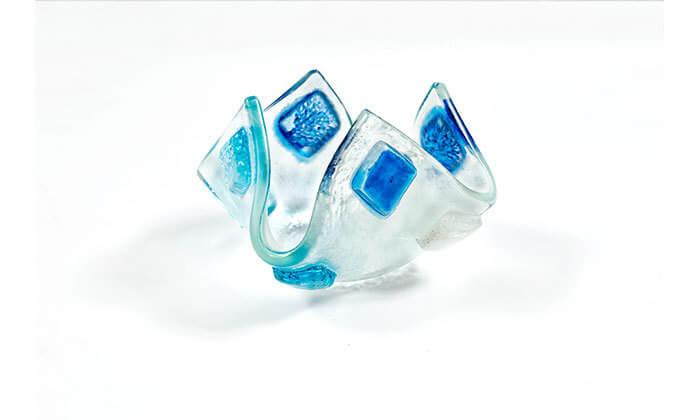 4 סדנת פיוזינג - יצירה בזכוכית בסטודיו Artesana glass, מבוא חורון