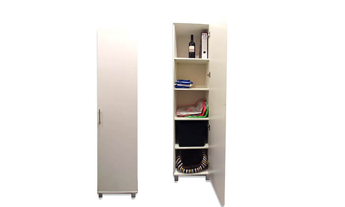 2 ארון שירות דלת אחת Homax