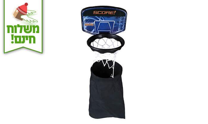 4 סל כביסה כדורסל - משלוח חינם