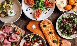 ארוחה איטלקית במסעדת טרנטינו