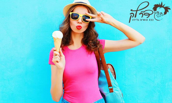 """6 דיל חגיגת קיץ: גלידה ברשת ד""""ר לק"""